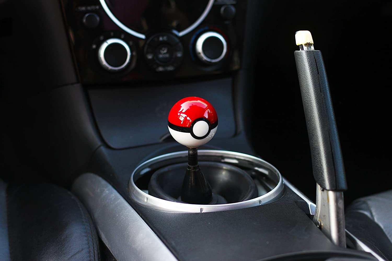 Amazon.com: Kei Project Pokemon Pokeball Round Shift Knob Available In  8x1.25 10x1.25 10x1.50 12x1.25 (10x1.25): Home Improvement