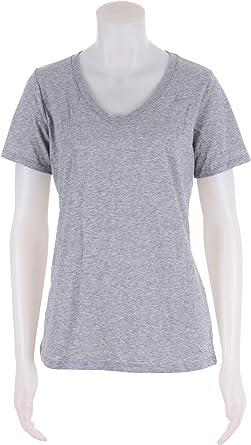 Nike – Camiseta de manga corta de algodón cuello de pico Dri-Fit 2.0 para  mujer.