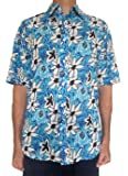 Bent Banani Floral Men's Shirts - Coral (Short Sleeve)
