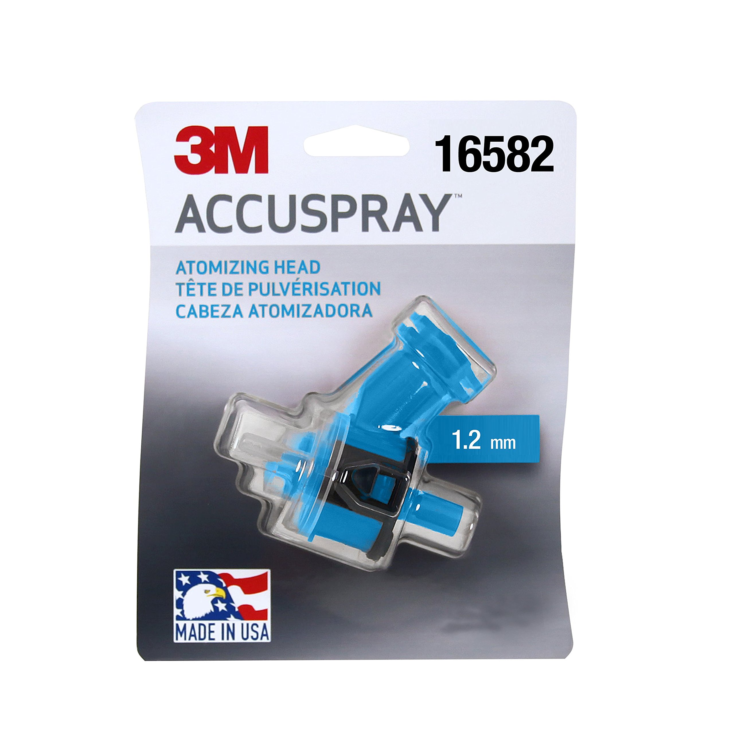 Accuspray 16582-case Atomizing Head (Blue, 1.2 mm, 1 atomizing heads per each, 10 each per case)