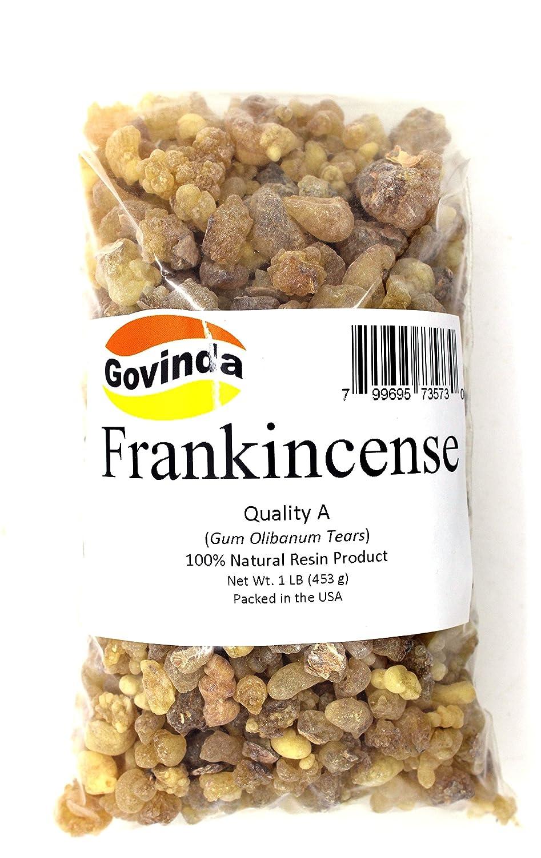 Govinda Frankincense Natural Resin Tears Quality A 1 lb