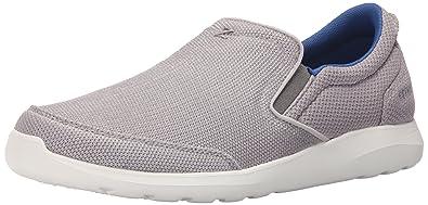 Crocs Men's Kinsale Mesh Slip-on Loafer, Smoke/White, ...