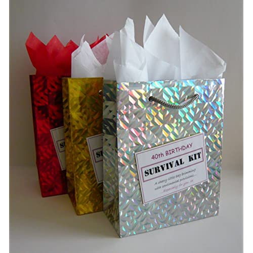 40th Birthday Survival Kit For Female Fun Gift Idea Novelty Present