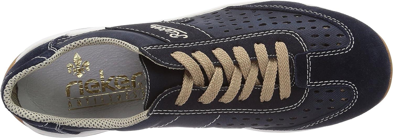 Rieker L6247, Baskets Basses Femme: : Chaussures et