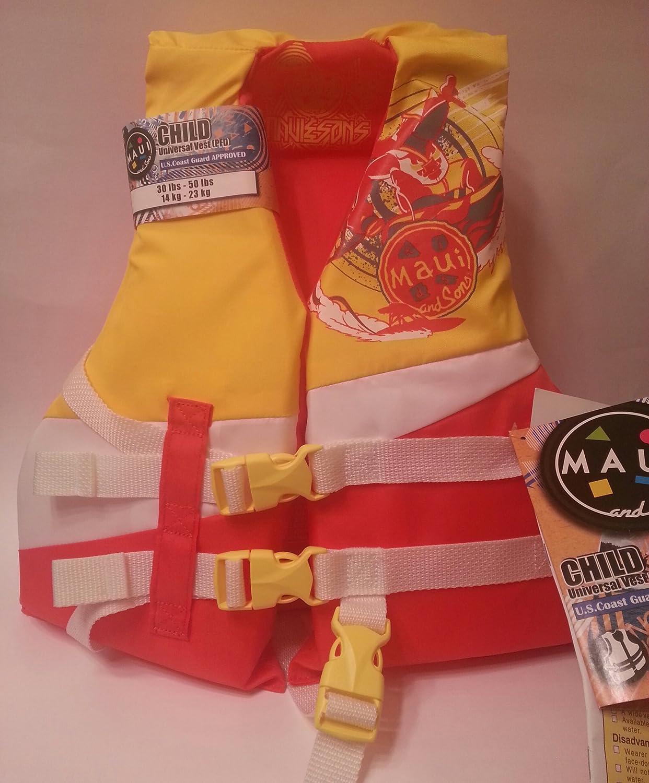 【公式ショップ】 Maui B00JQDDNBK Maui and Sonsの子のUniveralライフジャケット and B00JQDDNBK, 壁紙のトキワ リウォール:dc5200b9 --- a0267596.xsph.ru