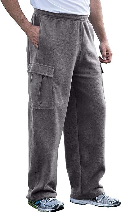 KingSize Mens Big /& Tall Explorer Plush Fleece Zip Vest