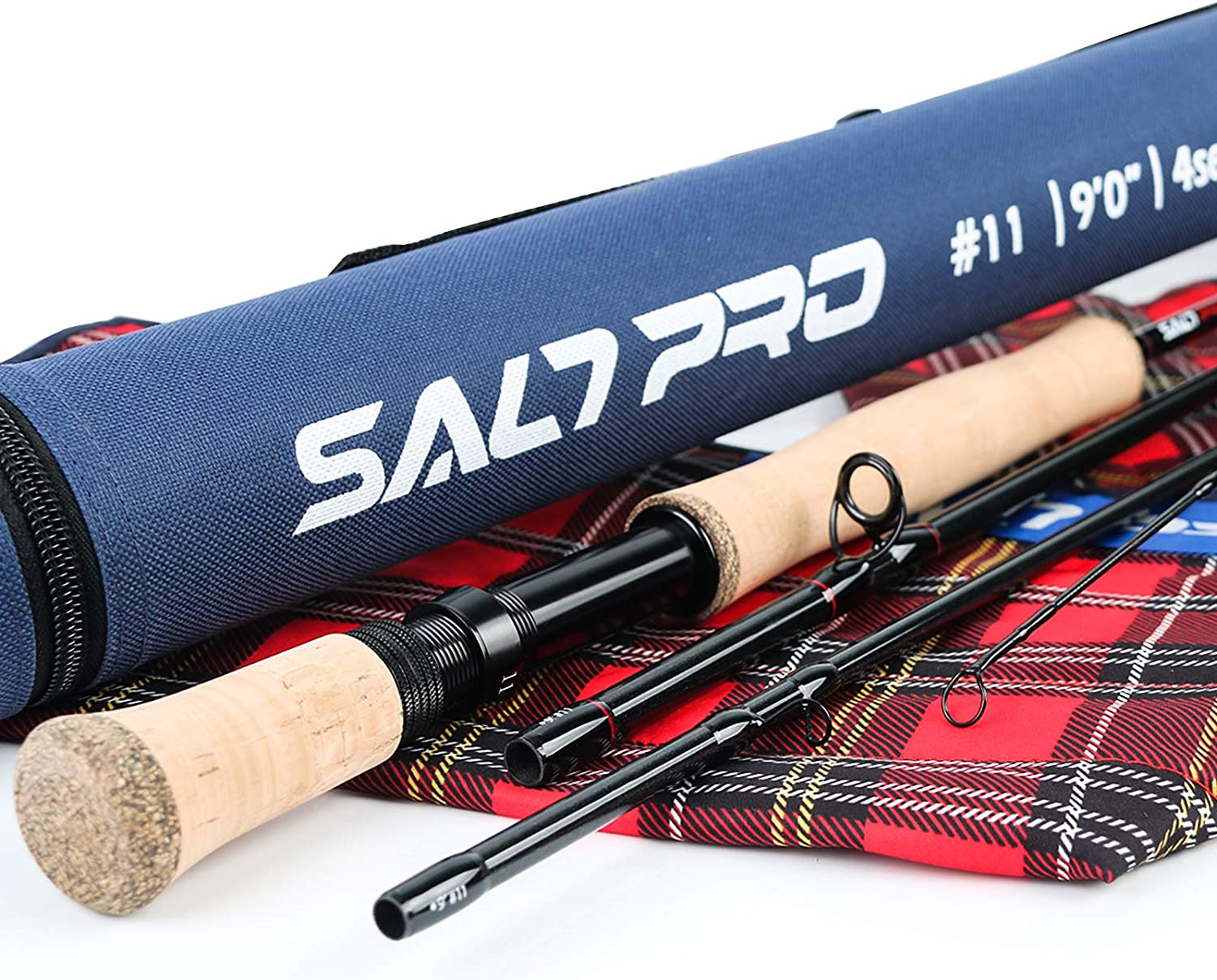 Maxcatch Fly Fishing Rod 3//4//5//6//7//8//9//10//12WT 9FT 4Pcs Carbon Fiber Fast Action