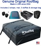 RoofBag Rooftop Cargo Carrier Bag |Made in USA |15 cu ft |Waterproof-Premium Triple Seal for Maximum Protection Luggage…