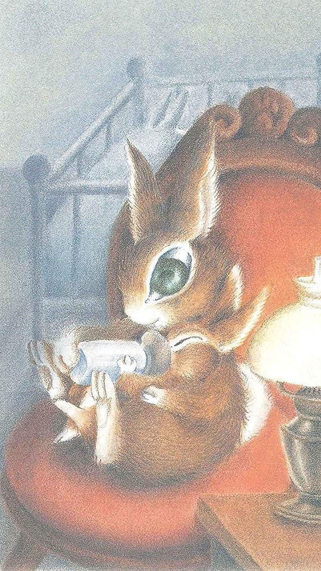 わちふぃーるど ウサギの女の子マーシィ iPhoneSE/5s/5c/5(640×1136)壁紙画像