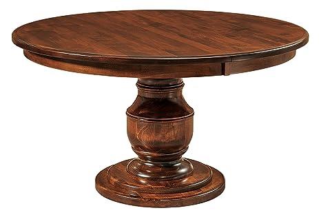 Amazon.com - New Hickory Wholesale Amish Round Pedestal ...