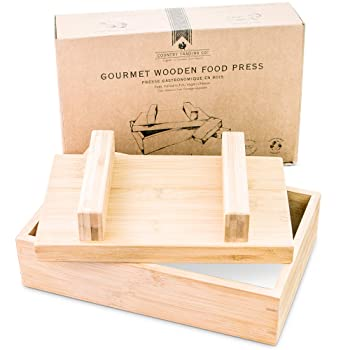 Simple Wooden Food Press Mold Kit