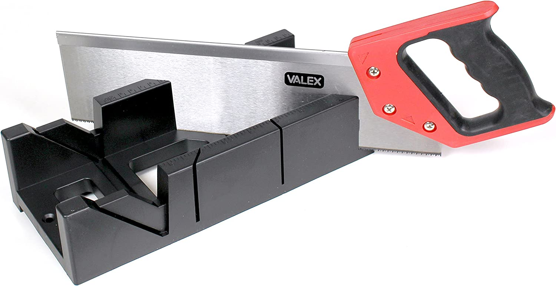 Valex 1452697.0 Dima caja de ingletes con sierra a lomo: Amazon.es ...