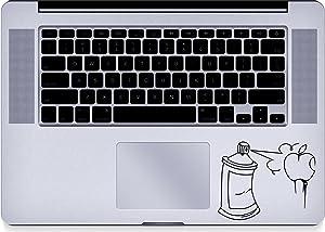 Spray - Paint - Trackpad - Macbook - Decal - Keyboard
