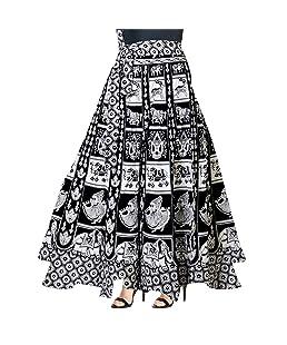 Trendy Fab Women's Wrap Around Long Skirt (SK_5713, Multicolour, Free Size)