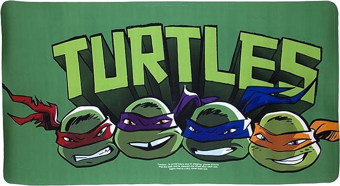 Nickelodeon Teenage Mutant Ninja Turtles Bathtub Mat, Green