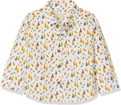 Lucy & Sam Woddland Shirt Camisa, Multicolor (Multi 94), 18-24 Meses (Talla del Fabricante: 18-24M) para Bebés: Amazon.es: Ropa y accesorios