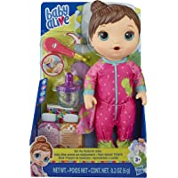 Baby Alive Mix My Medicine Baby Doll, Dinosaur Pajamas, Drinks and Wets, Doctor Accessories, Brown Hair Toy for Kids…