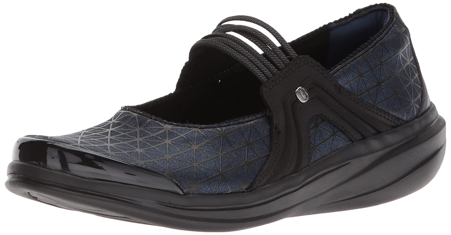 BZees Women's Candy Mary Jane Flat B072MHSZG1 7 B(M) US|Navy