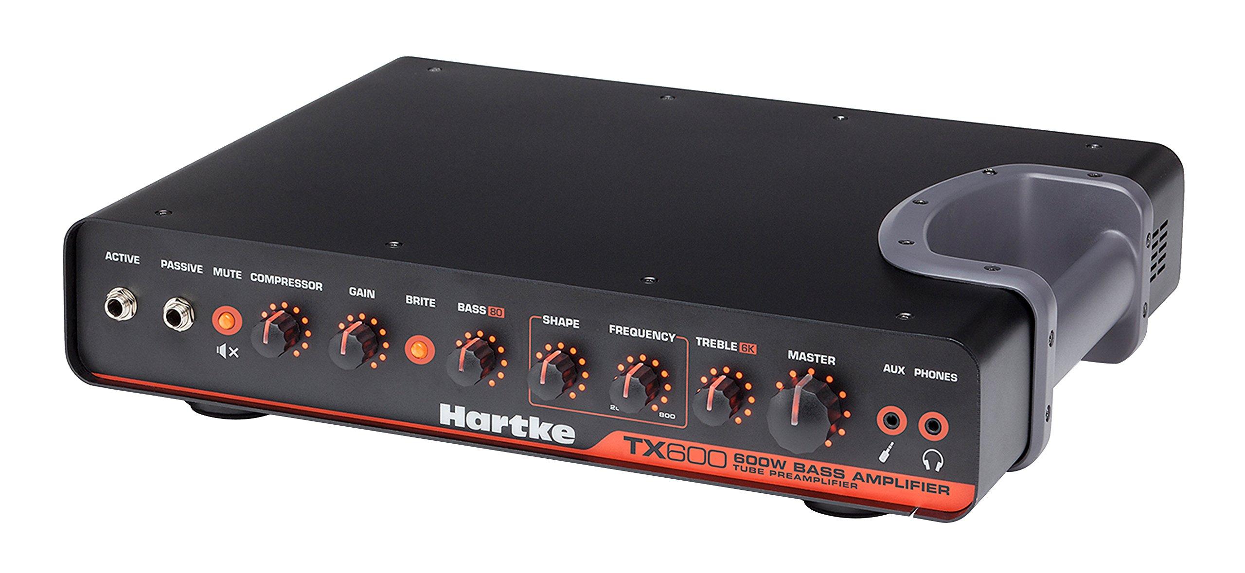 Hartke TX600 600-Watt Class D Bass Amplifier
