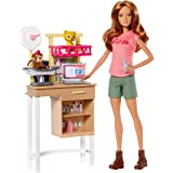 Barbie Doll Zoo Doctor Play Set with Two Patients! [Amazon Exclusive]