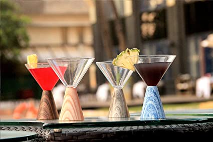 Buy Nanis Firangi Glass Martini Cocktail And Mocktail Glass