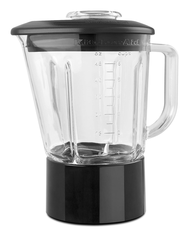 Amazon.com: KitchenAid KSB565SM 5-Speed Blender with 48-Ounce ...