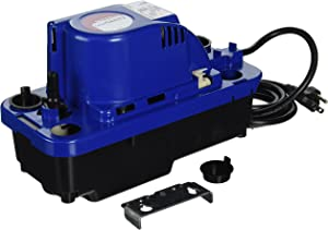 Little Giant 554520 VCMX-20UL1/30 HP Automatic Condensate Removal Pump, 6-Feet Power Cord