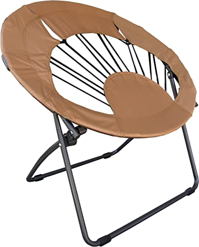 BrownRound Chair for Living Room Use