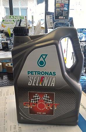 Aceite Selenia Sport SAE 5 W-40 Acea A3/B3/B4 unidades de 5 l: Amazon.es: Coche y moto