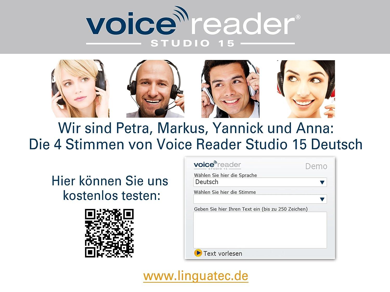 linguatec voice reader deutsch