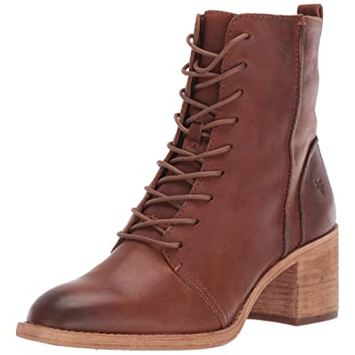 Frye Women's Monroe Seamed Lace Up Ankle Boot | Ankle & Bootie