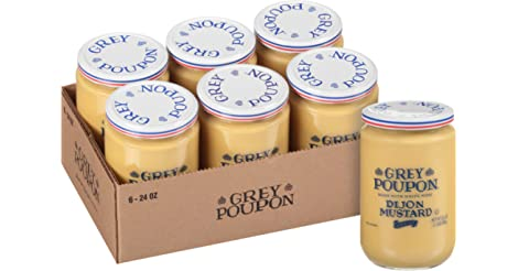6-Pack Grey Poupon Dijon Mustard 24.0 oz Jar only $12.71