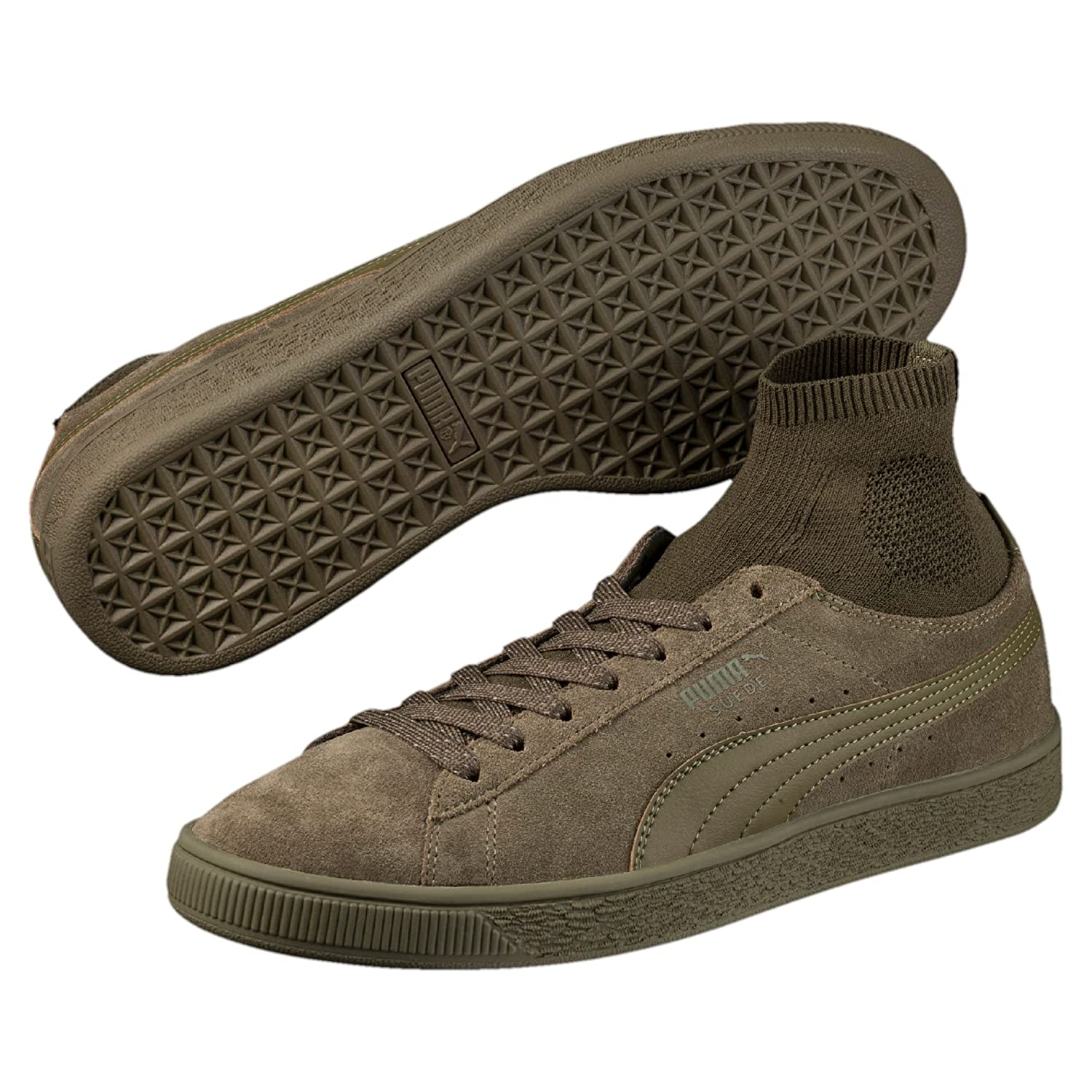 Puma Suede Classic Sock Chaussure Mode Sneakers Unisex Cuir