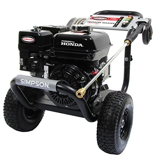 2. SIMPSON Cleaning PS3228-S 3200 PSI at 2.8 GPM Gas Pressure Washer Powered by HONDA with AAA Triplex Pump