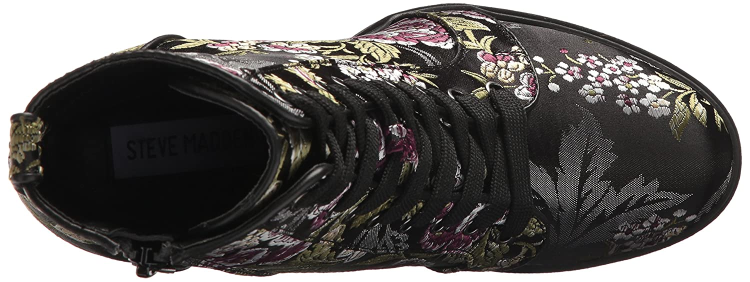 Steve Madden Women's Laurie Combat Boot Multi B075VY93ZY 9.5 B(M) US Floral Multi Boot d7b162