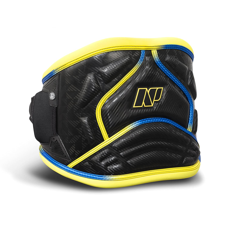 NP Surf 3D Pro Windsurf fácil liberación Cintura arnés, Negro/Amarillo GNNWH001900100M