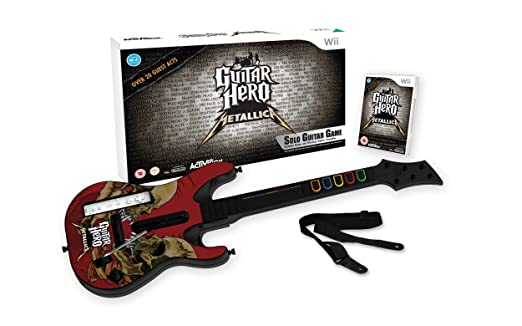 "Pack ""Guitar Hero: Metallica"" con guitarra [Nintendo Wii] [Producto"