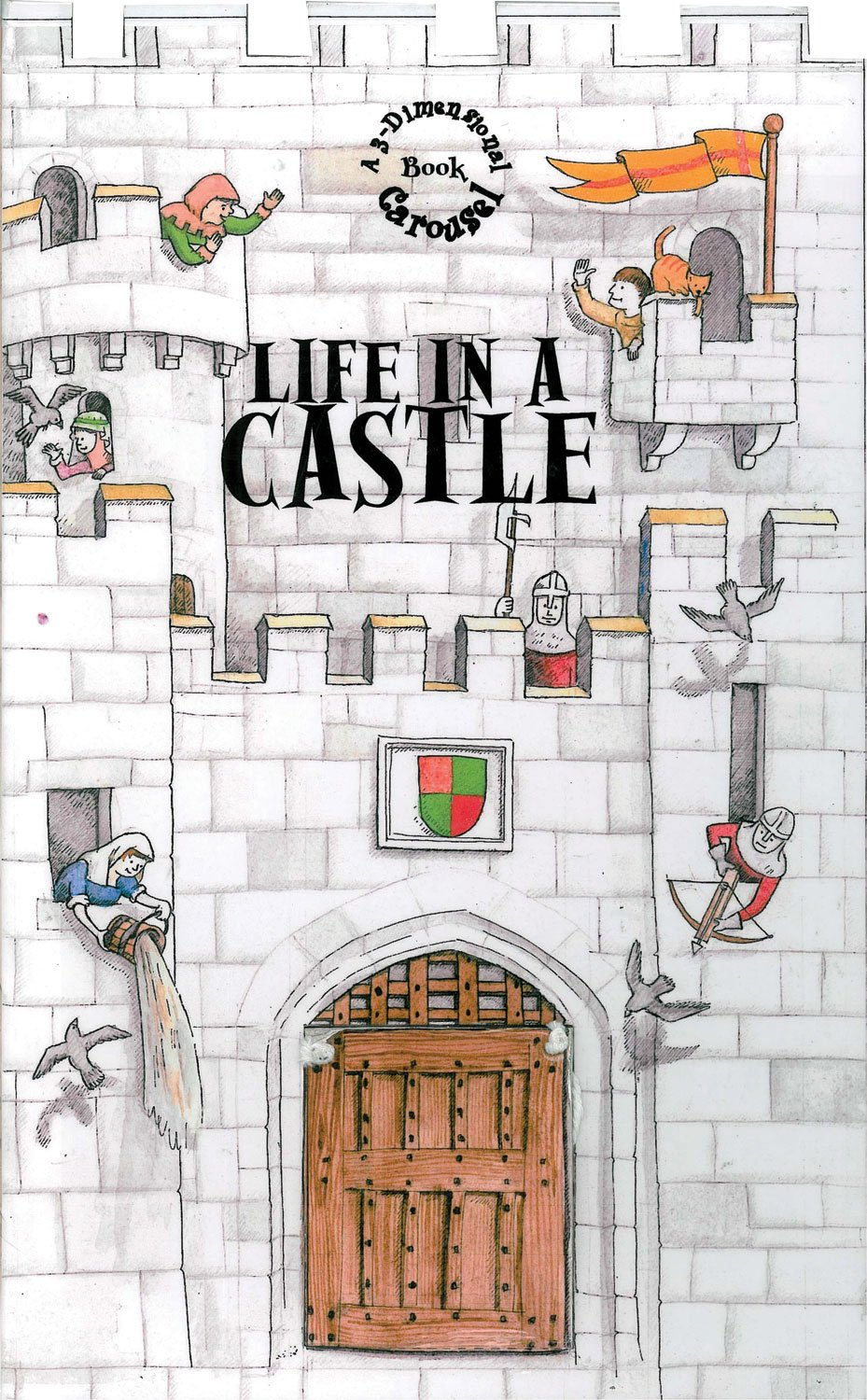 Life in a Castle: A 3-Dimensional Carousel Book pdf epub