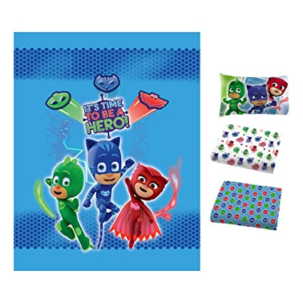 Franco Manufacturing PJ Masks Bed in a Bag Bedding Set with Matching Blanket #104352131