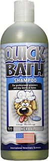 product image for International Veterinary Sciences Quick Bath Shampoo for Dogs, 16 oz