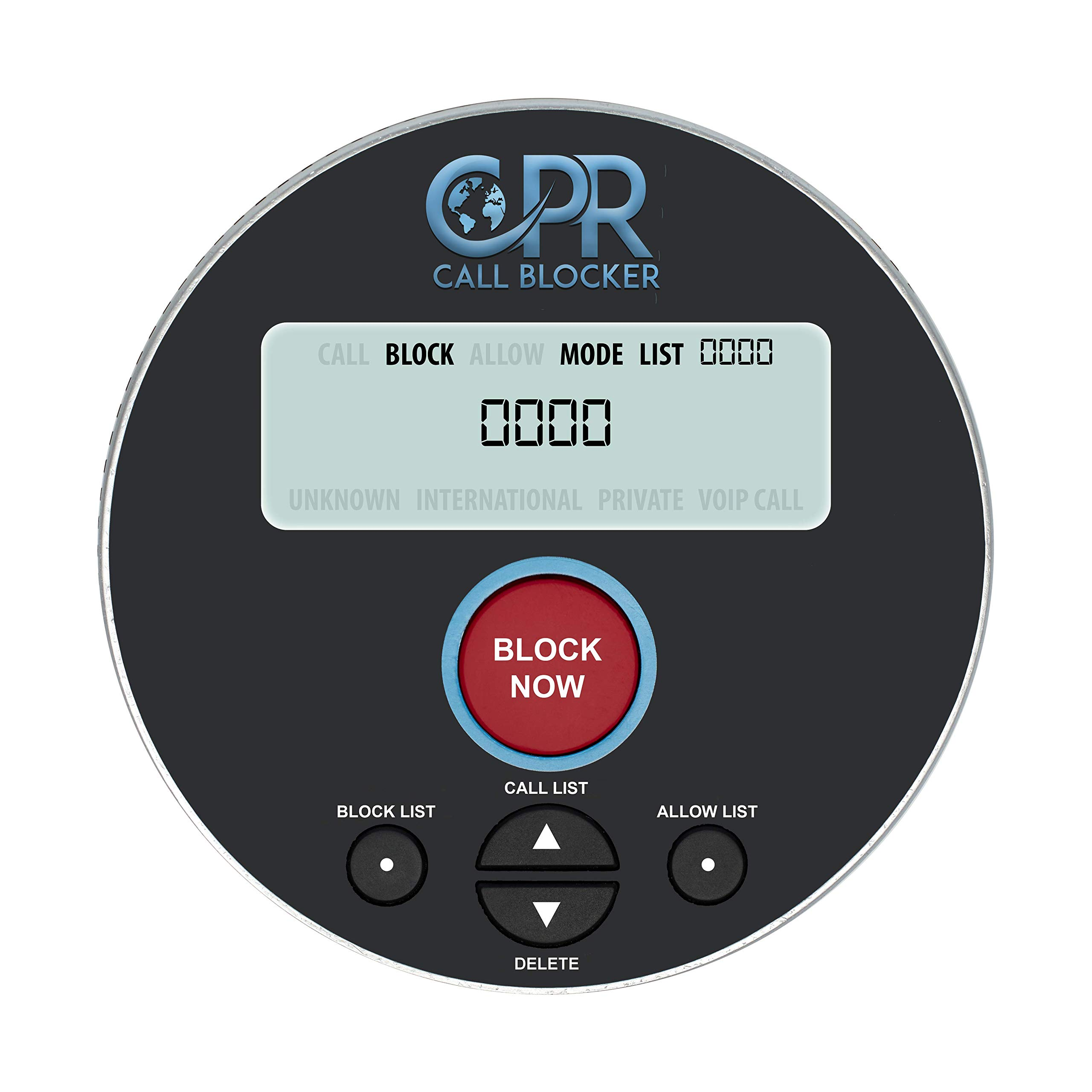 CPR V10000 Call Blocker for Landline Phones. Dual Mode Protection. Pre-Loaded with 10, 000 Known Robocall Scam Numbers - Block A Further 2, 000 Numbers at A Touch of A Button by CPR Call Blocker