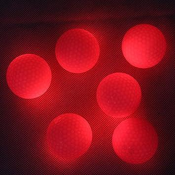extsud® Luz LED Up Noche de pelotas de golf Pelota de golf Tamaño ...