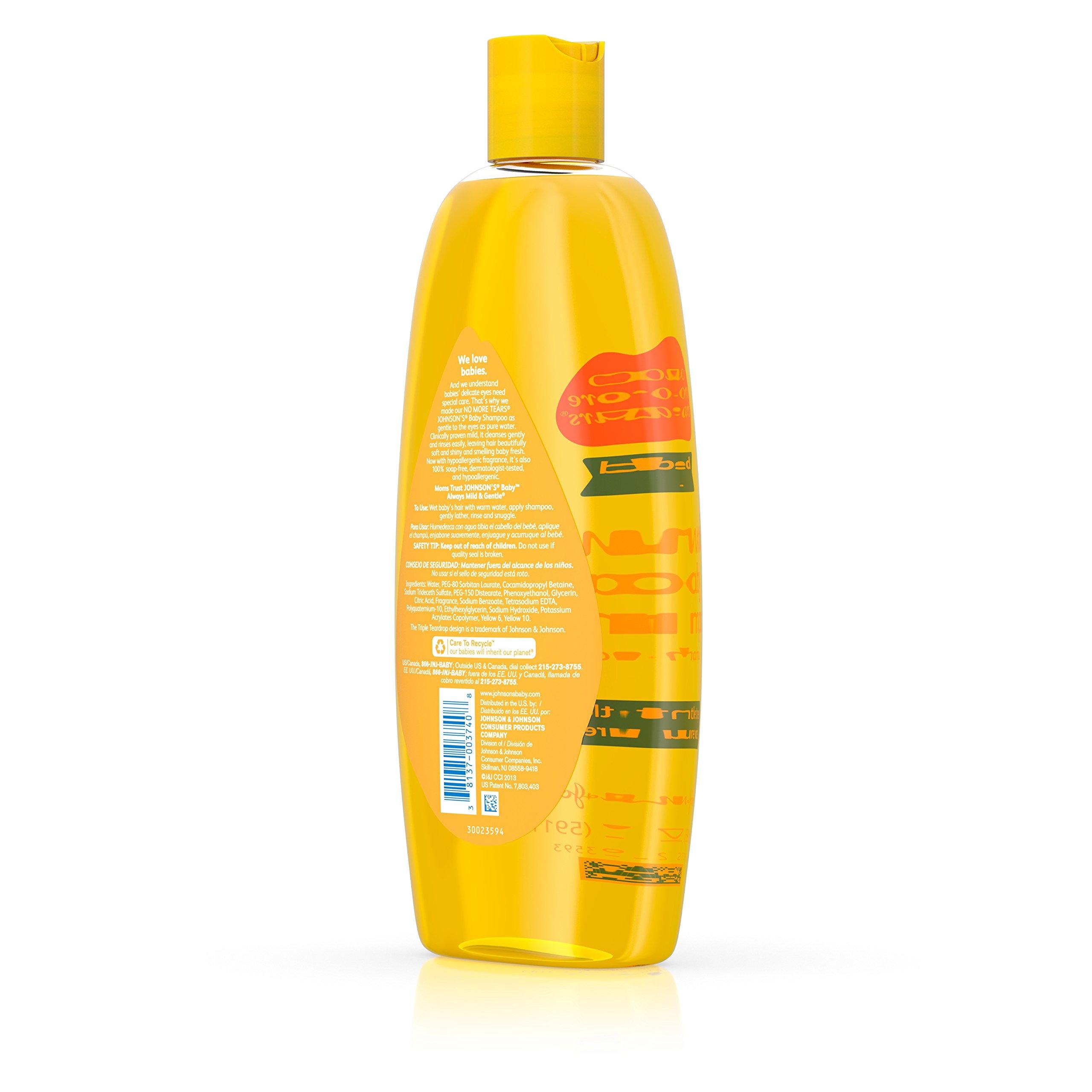 Johnson's Baby Tear Free Shampoo, 20 Fl. Oz. | Amazon