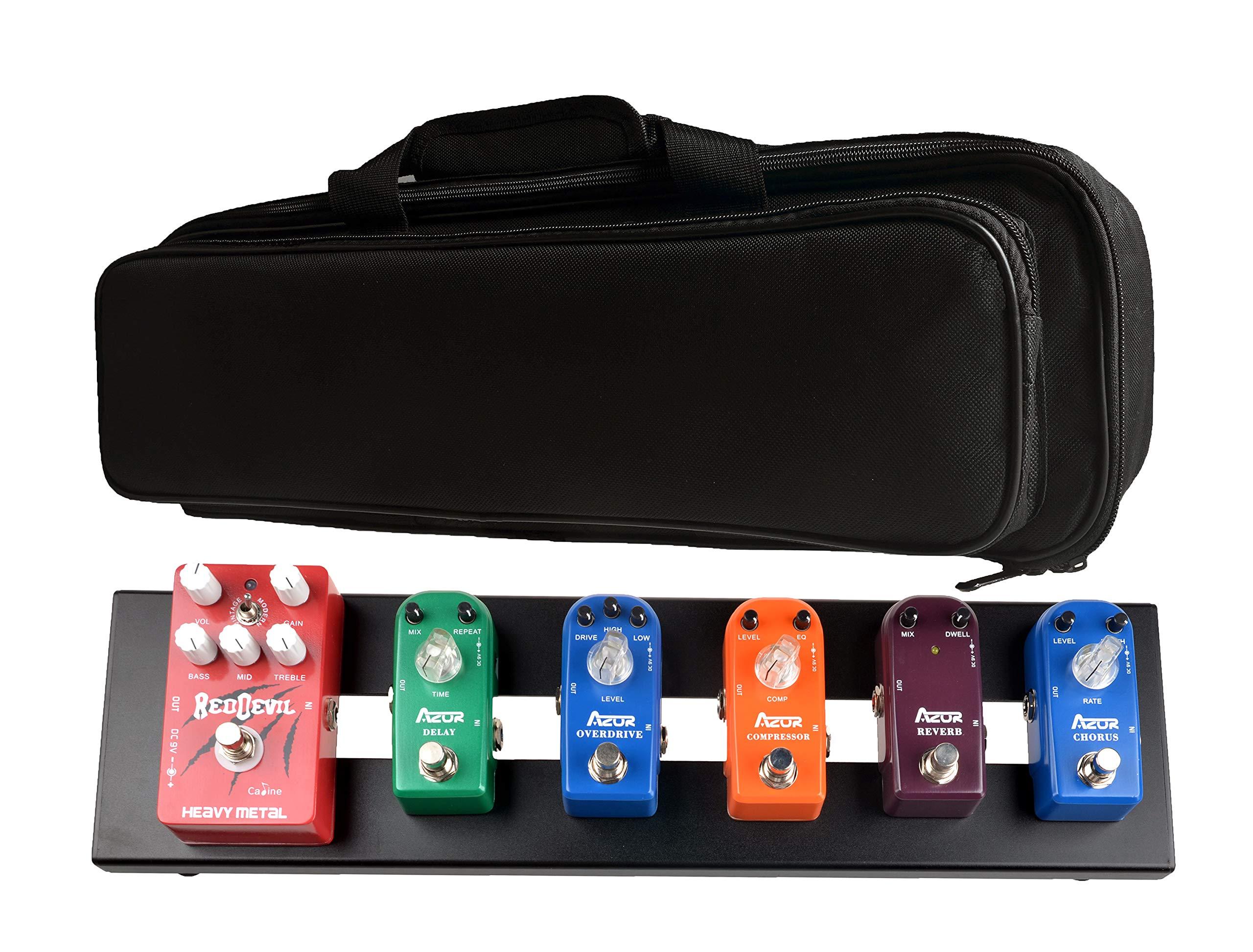 Azor Guitar Pedal Board AB-101 Aluminium Pedalboard