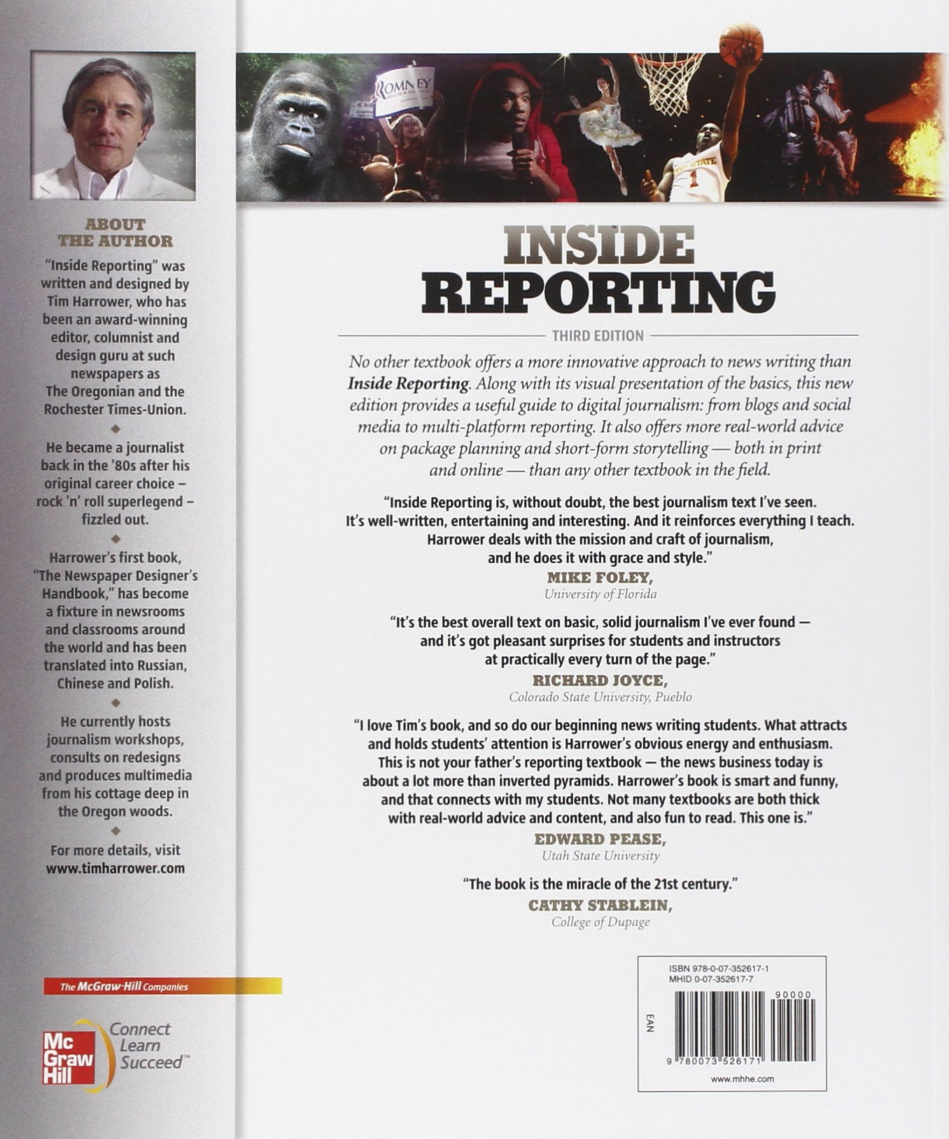 Inside Reporting by McGraw-Hill Humanities Social Sciences Languages
