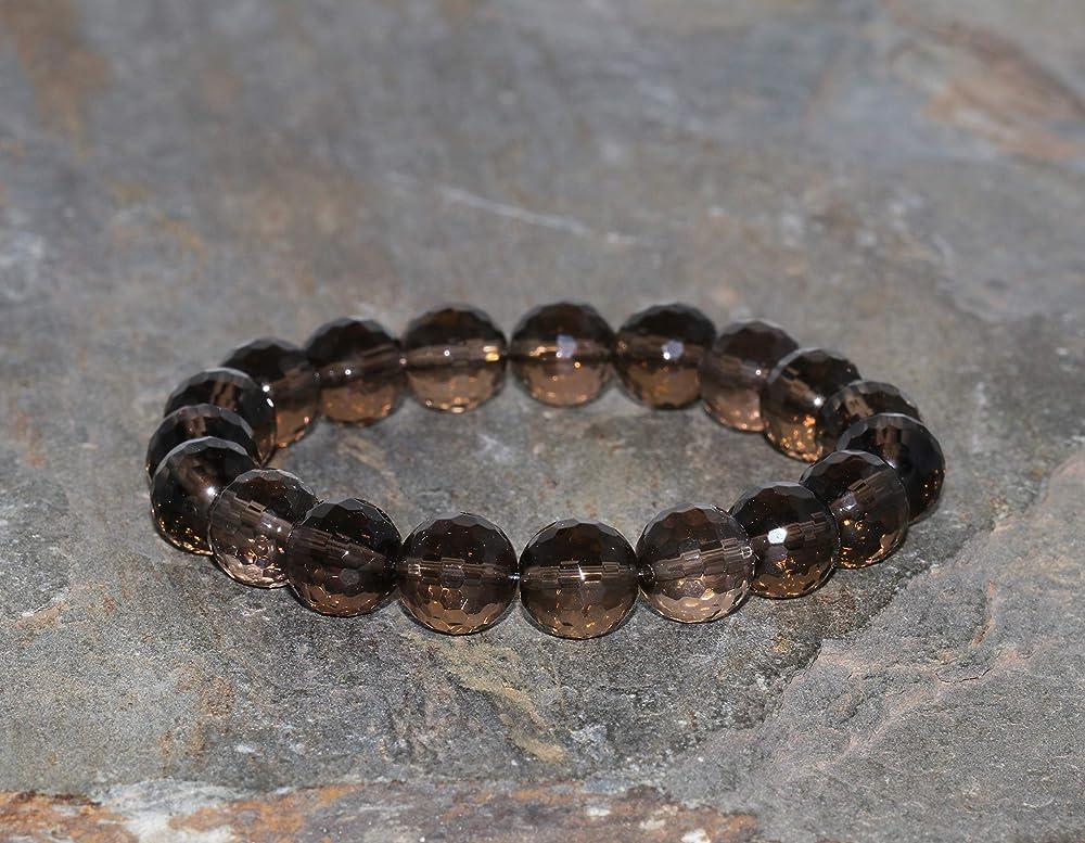 Natural Smoky Quartz Beads Strand Smoky Quartz Faceted Beads Size 3.50 MM Length 13/'/'