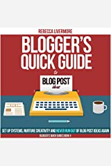 Blogger's Quick Guide to Blog Post Ideas: Set Up Systems, Nurture Creativity, and Never Run Out of Blog Post Ideas Again Audible Audiobook