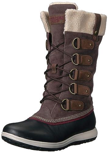 Amazon Com Rockport Women S Xcs Britt High Boot Snow Snow Boots