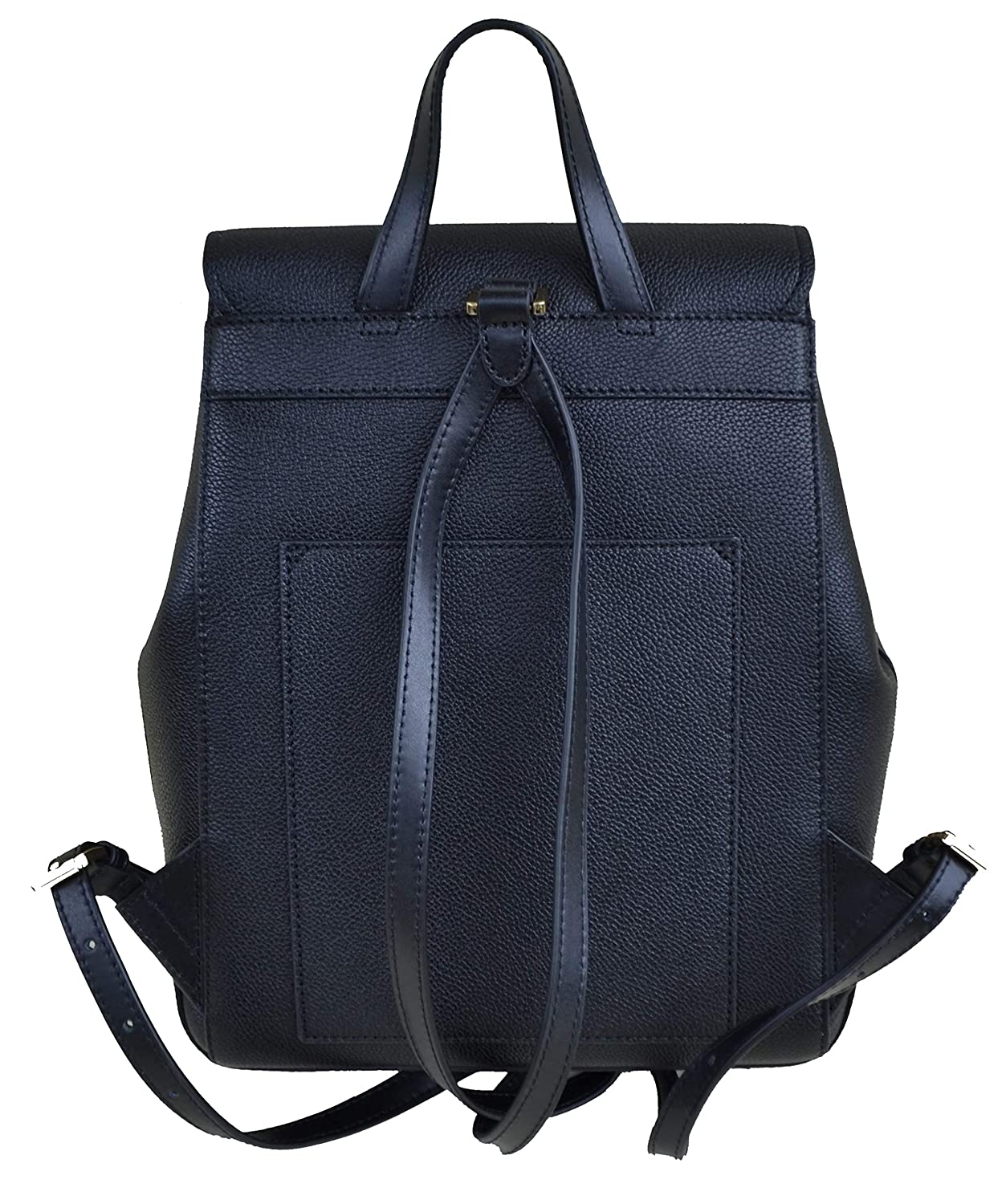 7d8f032a30b9 Amazon.com  Michael Kors Hayes Medium Backpack Leather Black  Shoes