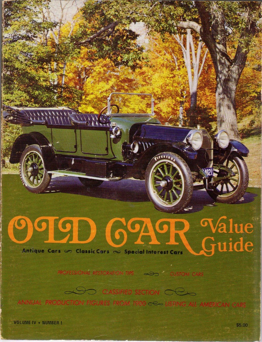 Old Car Value Guide (Volume IV Number 1): Quentin Craft: Amazon.com ...